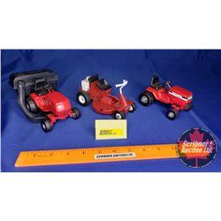 Lawn & Garden Tractor Trio (Scale: 1/16)