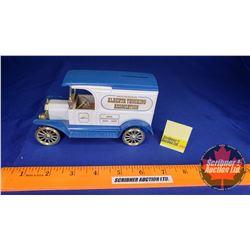 "Truck Bank: Ford Model T ""Member Alberta Trucking Association"" ""50th Anniversary 1938-1988"""