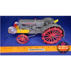 CASE L Tractor on Steel with Mandrel & Buzz Saw (Scale: 1/16)