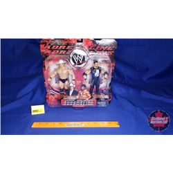 Adrenaline Poseable Action Figures : John Layfield & Eddie Guerrero (7'H)