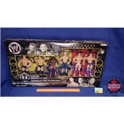 Jakks Exclusive Youth Generation Action Figures : Charlie Haas; Randy Orton; Shelton Benjamin; John