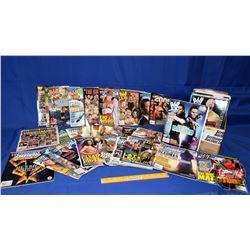 Box Lot : Wrestling Magazines (2000's) - 72 Total