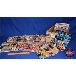 Box Lot : Wrestling Magazines (1980's & 1990's) - 77 Total