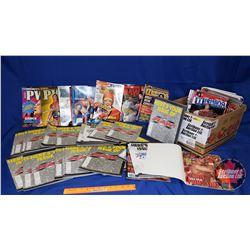 Box Lot : Wrestling Magazines (2000's) - 78 Total
