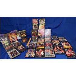 Tray Lot : Wrestling DVDs (30)