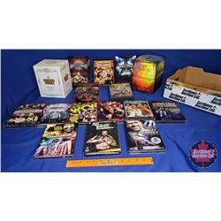 Tray Lot : Wrestling DVD Box Sets (16)