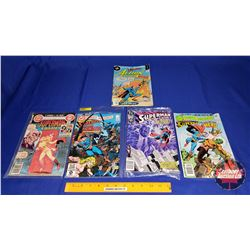 Superman Comic Books (5) : DC Comics (4) & Action Comics