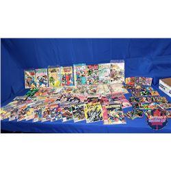 Marvel Box Lot : Comics (36) including Wolverine, X-Men, Hulk, Thor, Fantastic Four, etc  & Collecto