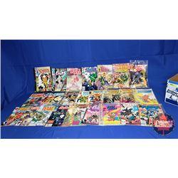 Marvel Tray Lot : Comics (25) including Heathcliff, Ghost Rider, Conan, Spidergirl, etc