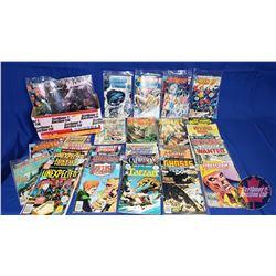 Box Lot : DC Comics (31) Including Adventure Comics; Justice League; Johan Hex, etc