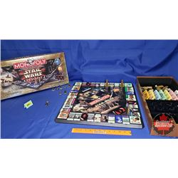 Stars Wars Episode 1 Monopoly Board Game