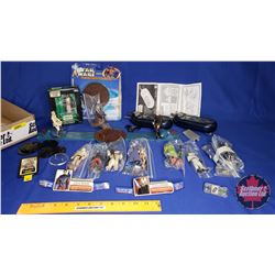 Star Wars Tray Lot : Episode 1 Figurines & Accessories