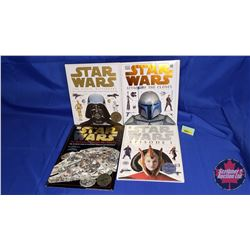 Star Wars Hard Cover Books: Attack of the Clones; Episode 1; Visual Dictionary & Incredible Cross Se