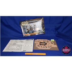 Star Wars Cantina Action Scene Model Kit (Built & Painted)