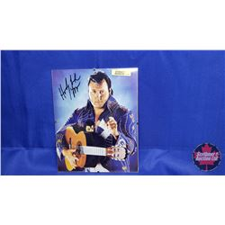 Autographed Photographs in Flushmount Glass Frame : Honky Tonk Man (Frame Size : 8x10)