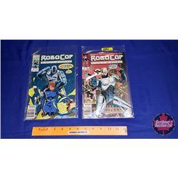 Marvel Robo Cop Comic Books: No. 1 & No. 17