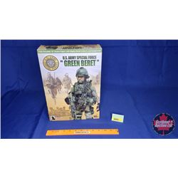 "Hot Toys - 12"" Action Figure with Highly Detailed Uniform & Equipment : U.S. ARMY SPECIAL FORCE ""GRE"