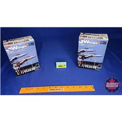 Military Aircraft Model Kits (2) : J Wings (Scale: 1/144) : F/A-18F Super Hornet & F/A-18E Super Hor
