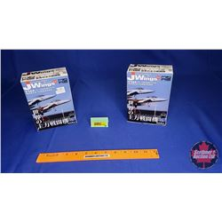 Military Aircraft Model Kits (2) : J Wings (Scale: 1/144) : F-15E Strike Eagle & F-15E Strike Eagle