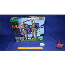 "Dragon - 12"" Action Figure with Authentic Uniform (Scale: 1/6) : NAM Private ""Smith"" RTO & Lieutenan"
