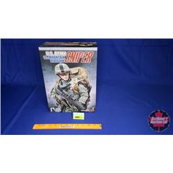 "Hot Toys - 12"" Action Figure with Highly Detailed Uniform & Equipment : U.S. ARMY 10th MOUNTAIN DIVI"