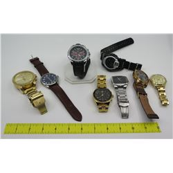 Qty 8 Watches: Michael Kors, Stuhrling, Diesel, etc
