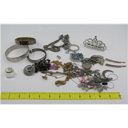 Misc Bangles, Bracelets, Hair Accessories, Link Necklaces, etc