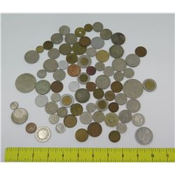 Misc Coins from Around the World: Jordan, Great Britain, Europe, Canada, Japan, etc