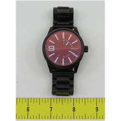 Diesel 5 Bar Watch, Waterproof to 50m w/ Dark Metal Band