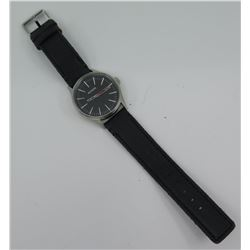Nixon Men's Sentry Stainless Steel Watch w/ Black Band