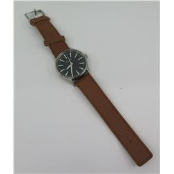 Nixon Men's Sentry Stainless Steel Watch w/ Brown Band