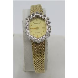 Gruen Quartz Ladies Watch 237-SY20 w/ Crystal Accents