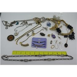Misc Jewelry: Pendants, Neck Chains, Earrings, Bracelets, Pins, etc