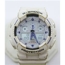 Casio G-Shock GA-100A Men's Watch, Shock & Water Resistant