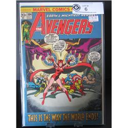 Marvel Comics The Avengers This Is The Way The World Ends  #104