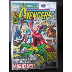 Marvel Comics The Avengers Your Young Men Shall Slay! #113