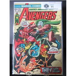 Marvel Comics The Avengers They Lurk Below #115