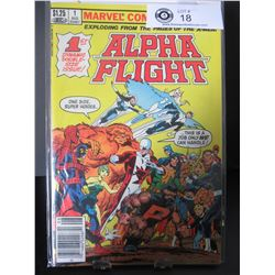 Marvel Comics Alpha Flight #1