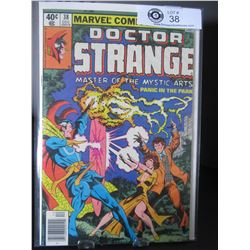 Marvel Comics Doctor Strange Master of The Mystic Arts #38