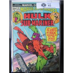 Marvel Comics Hulk And Sub-Mariner #42