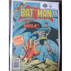 DC Comics Batman Battles The Mole #340