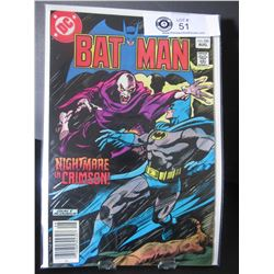 DC Comics Batman Nightmare In Crimson! #350