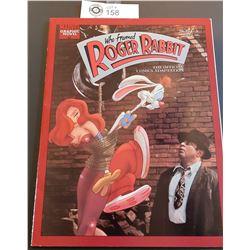 Marvel Graphic Novel Who Framed Roger Rabbit