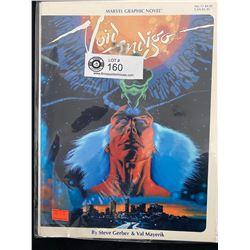 Marvel Graphic Novel Void Indigo