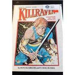Marvel Graphic Novel Killraven Warrior of the Worlds