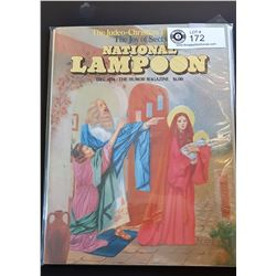 The Humor Magazine The Joy of Sects National Lampoon