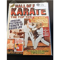 Collectors Edition Hall of Fame Karate