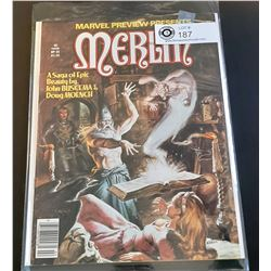 Marvel Preview Presents Merlin #22