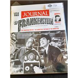The Journal of Frankenstein