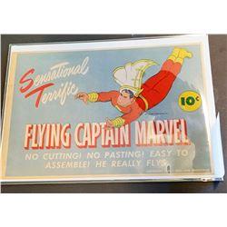 Flying Captian Marvel
